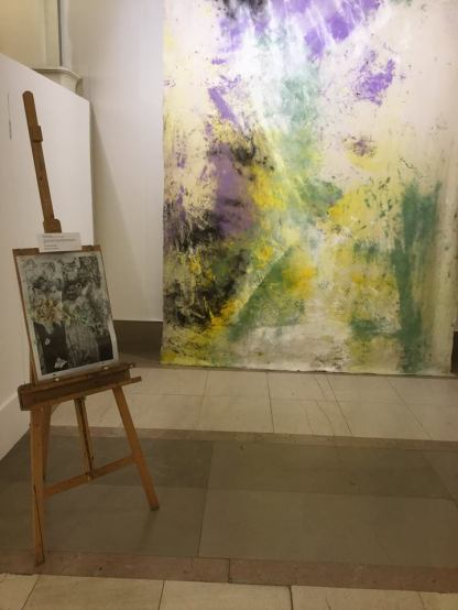 My work on show along side Jessica Warboys for BAS8