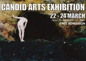 Candid arts exhibition, Angel, London