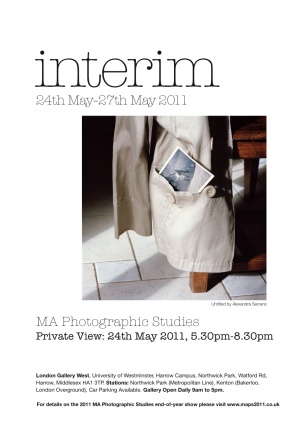 Interim Exhibition, London