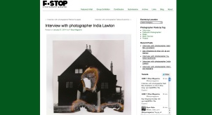 Interview with F-Stop Photographic Magazine