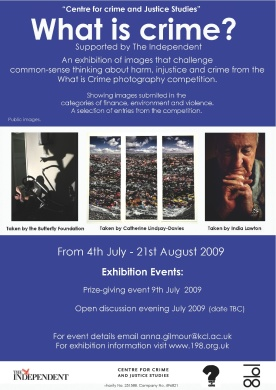 What is Crime? Exhibition, London